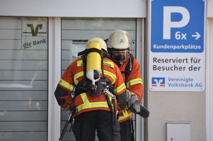 Die Feuerwehr macht sich einsatzbereit